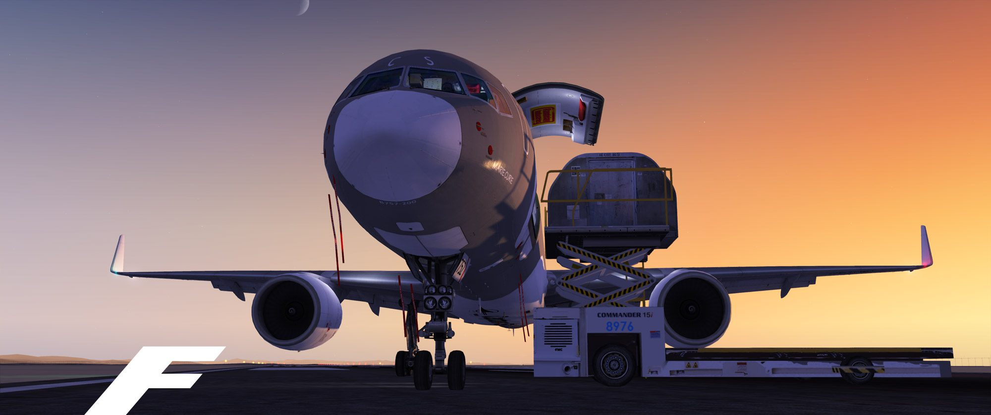 757 freighter